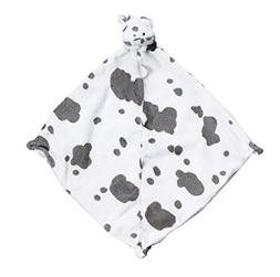 Angel Dear Pair and A Spare 3-Piece Blanket Set, White Cow w