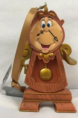 Disney Parks Beauty and the Beast Cogsworth Clock Christmas