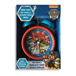 Nickelodeon Paw Patrol Light-Up Time Teacher Alarm Clock