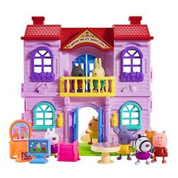 Peppa Pig Best friend's suit and his luxurious house
