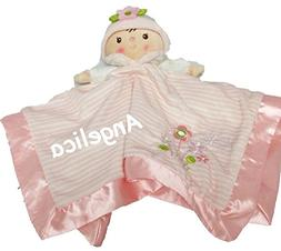 Personalized Claire Doll Lil Snugglers Baby Snuggle Blanket