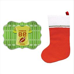 BleuReign Personalized Custom Name And Number Football Playe