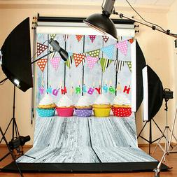 Photography Backdrop Background Child Baby Birthday Theme Fo