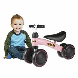 Pink Baby Toddler Ride on Toy Bike Trike Walk Training for G