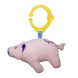 Pink Floyd Hanging Plush Pig Toy: Squeaker, Rattle and Pull