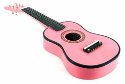 Pink guitar for kids Girls 3 4 5 year old age Girl Acoustic