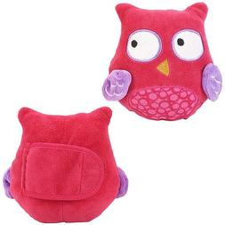 Babies R Us Pink Owl Neck Cushions 2 Pack