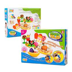 Play Baby Toys DIY Super Soft Clay Collection, Fast Food Ser