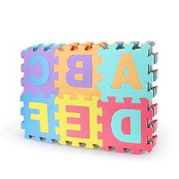 36 Piece Play Puzzle Mat Colorful Foam Playmat Non-toxic and