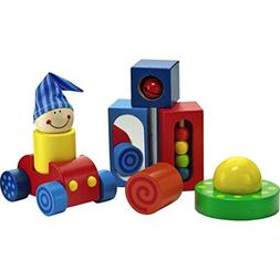 HABA Play Shapes 8 Piece First Building Block Set for Ages 1