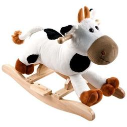 Happy Trails Plush Rocking Connie Cow Great Gift for the Kid