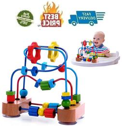 Premium Bead Maze for Baby, Toddler, with Strong Suction Cup