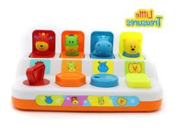 Preschool Learning Toy Pop-Up Animals Colorful animal set fo