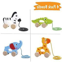 Pidoko Kids Pull Along Walking Toys - Bundle Toy Gift Packs