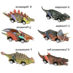 Pull Back Vehicles Toys For 3-9 Year Old Age Boys Dinosour M