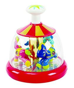 KidSource Push & Spin Carousel - Spinning Baby Toy with Easy