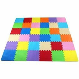 BalanceFrom Kids Puzzle Exercise Play Mat with 36 EVA Foam I