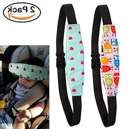 R • HORSE 2Pcs Infants and Baby Head Support Pram Stroller