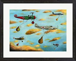 Amazing Race 7 by Leah Saulnier Framed Art Print Wall Pictur