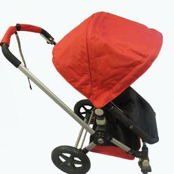 Red Canopy Shade Wire Seat Liner Basket for Bugaboo Stroller
