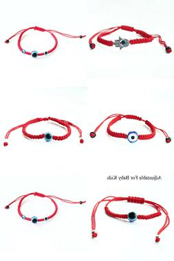 Red Lucky Kabbalah String Bracelet Evil Eye Charm Jewelry Pr