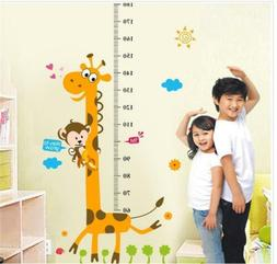 Removable Height Chart Measure Wall Sticker Decal for Kids B