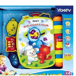 Vtech Rhyme and Discover Book - Green