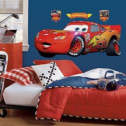Roommates Rmk1518Gm Disney Pixar Cars Lightning Mcqueen Peel