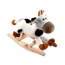Happy Trails Rocking Connie Cow Battery-powered Plush Kids'