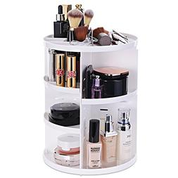 MOFIR Makeup Organizer 360 Degree Rotating, Adjustable Multi