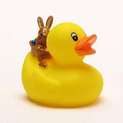 Rubber Duck with Easter Bunny | Bathduck | Duckshop | L: 8 c