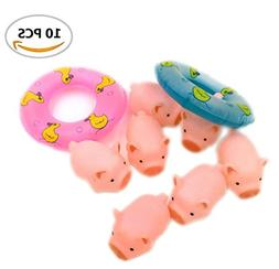 A Little Lemon Rubber Pig Baby Bath Toy for Kid,Baby,Childre