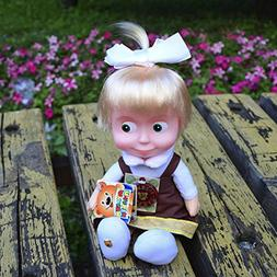 30 Cm Russian Language Talking and Singing Toy Schoolgirl D