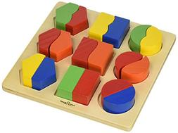 Small World Toys Ryan's Room Wooden Toys  - Sort 'Em Out Sha