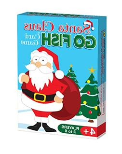 Santa Claus GO FISH, A Fun 3-in-1 Christmas Card Game Your K