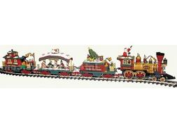 New Bright Large Scale Holiday Express Train Set