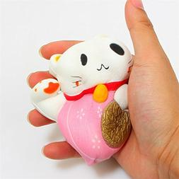 LIGONG Scented Slow Rising Toy Charms Soft Squishy, Stress R