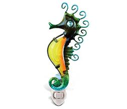 Puzzled Seahorse Night Light