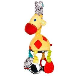 Bright Starts Start Your Senses Sensory Giraffe Take-Along T