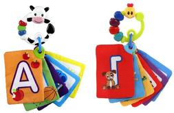 Baby Einstein Shapes & Numbers Discovery Cards - Caterpillar