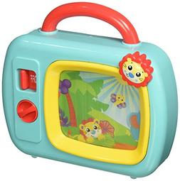 Playgro 6386393 Sights and Sounds Music Box TV STEM toy for