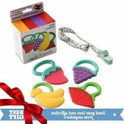 TEETHING TOYS TEETHERS FOR BABIES BABY GIFT SET SOFT ECO FRI