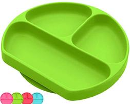Silicone Suction Plate for Toddlers | BPA Free | Microwave,