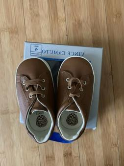 Vince Camuto Size 4 Baby Shoes, Brown, For Babies 9-12 Month
