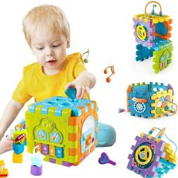 Smart Toys Activity Cube for Toddler & Babies Early Developm