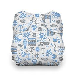 Thirsties Snap Natural Newborn All In One, Ocean Life by Thi