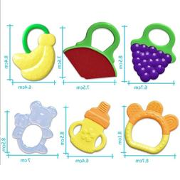 Soft Teeth Stick Teether Chew Toy For Baby Silicone Food Fee