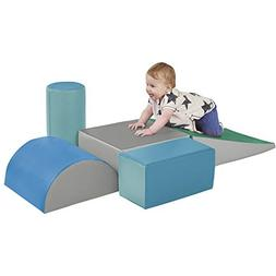 ECR4Kids SoftZone Climb and Crawl Foam Play Set for Toddlers