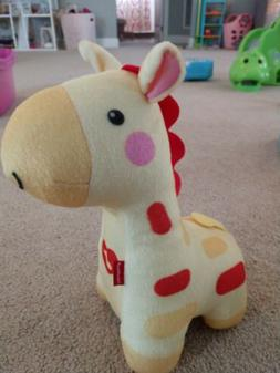 Fisher Price Soothe and Glow Pink Giraffe Music & Light Glow