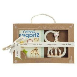 Sophie the Giraffe Teether and Shapes Book Gift Set